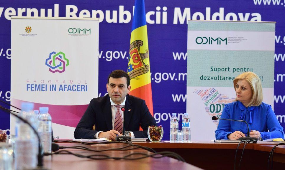 """100 de femei de afaceri din Republica Moldova vor beneficia de finanțare nerambursabilă prin intermediul Programului guvernamental """"Femei în afaceri"""""""