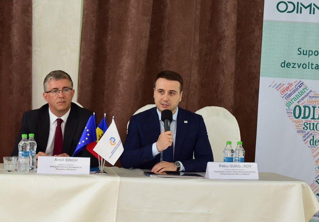 Dezvoltarea Infrastructurii de Suport în Afaceri  în Regiunea de Sud a Republicii Moldova cu suportul UE