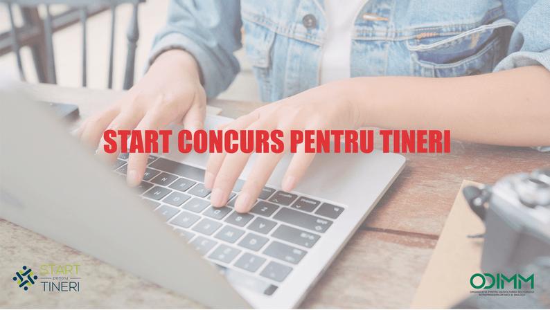 START competiției proiectelor investiționale PENTRU TINERI