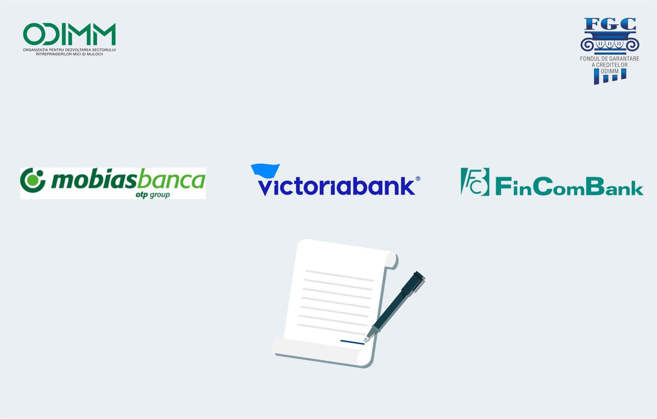 Noi condiții preferențiale de garantare resetate de FGC și trei instituții bancare din țară