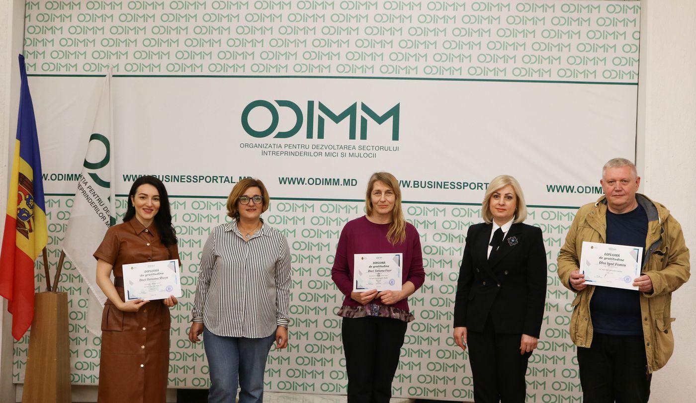 ODIMM a premiat cei mai buni jurnaliști care reflectă tematica antreprenorială