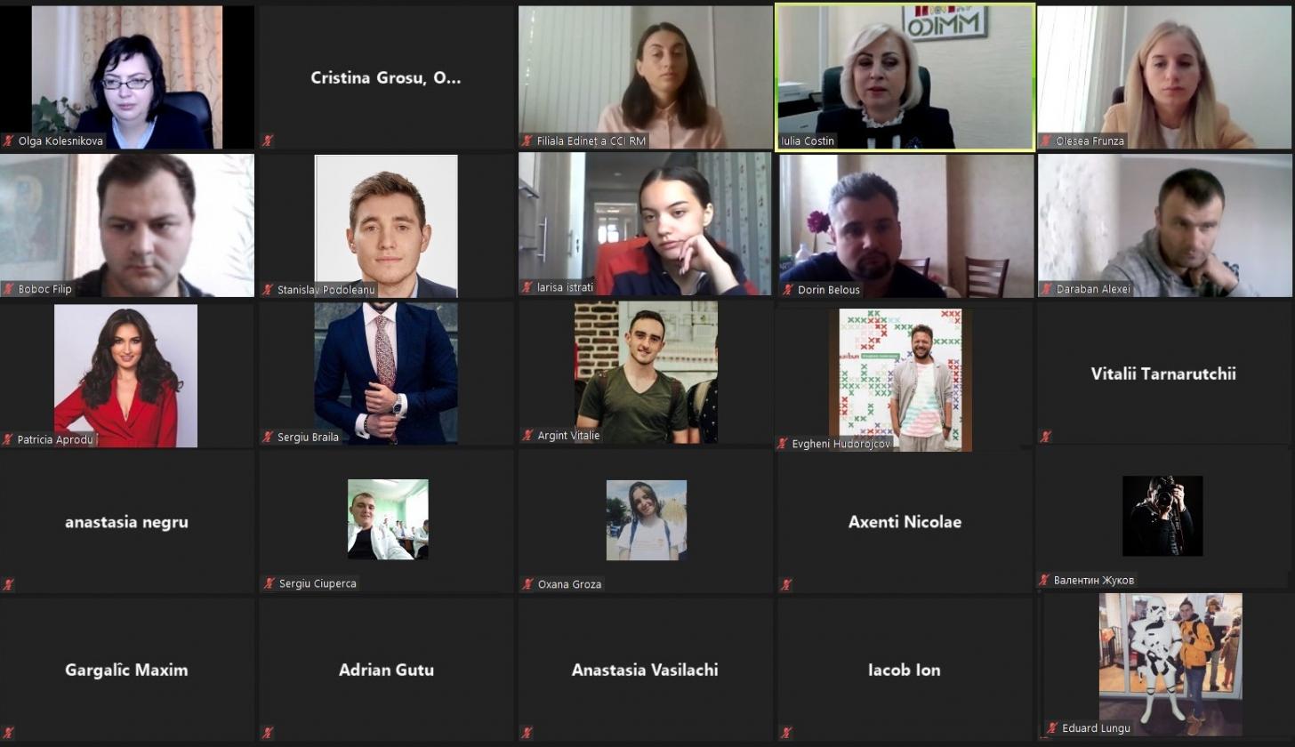 "ODIMM a dat start instruirilor antreprenoriale prin programele ""Start pentru Tineri"" și ""Femei în Afaceri"""