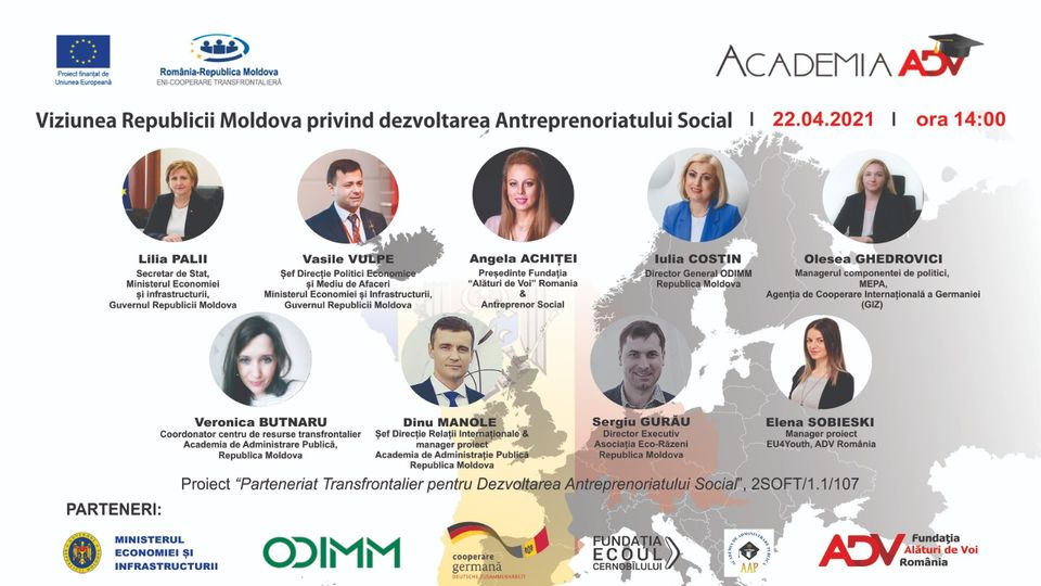 Social entrepreneurship in the Republic of Moldova will be supported through an assistance programme