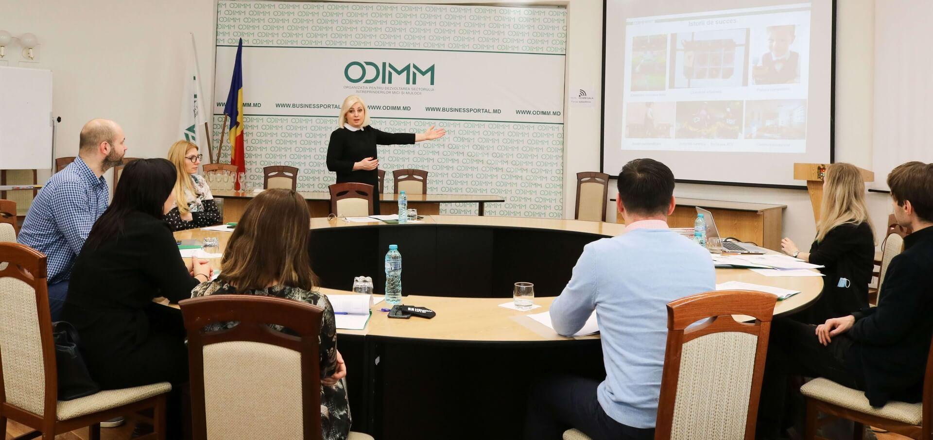 ODIMM susține tinerii să dezvolte întreprinderi sustenabile în Republica Moldova