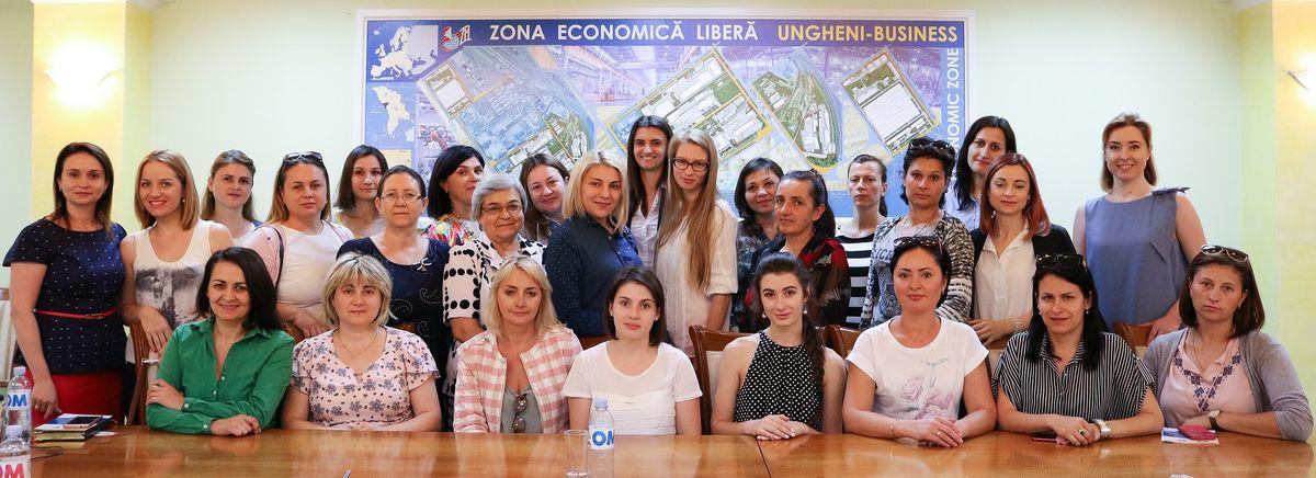 30 предпринимателей перенимают опыт компаний-резидентов ZEL Ungheni в рамках программы BAW