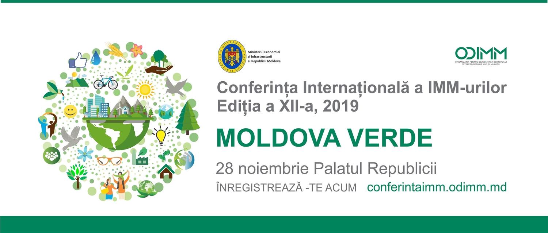 Conferința internațională a IMM-urilor din 2019 – MOLDOVA VERDE