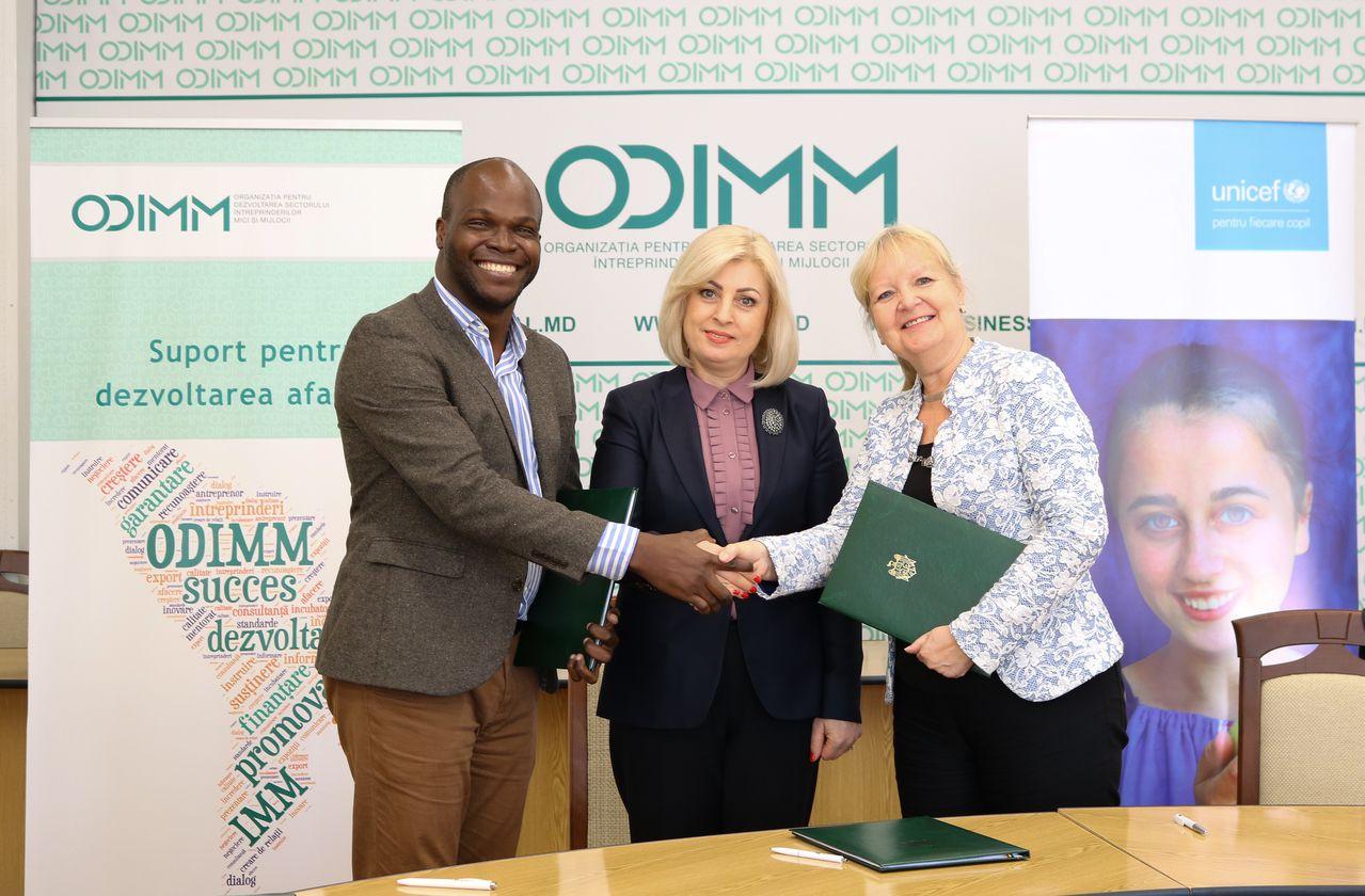 ODIMM, UNICEF și TEKEDU și-au unit eforturile pentru viitorul tinerilor