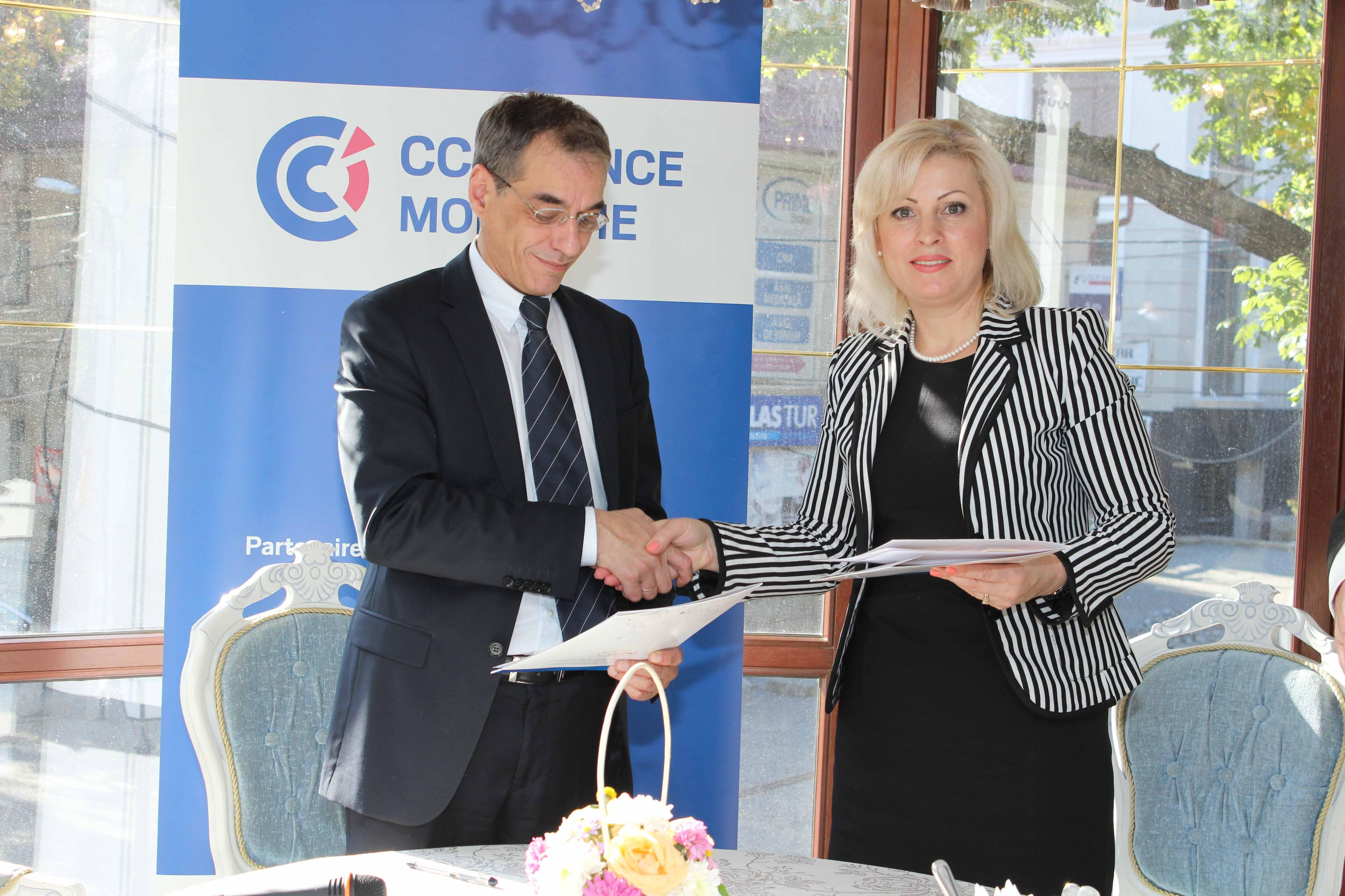 Organizaţia pentru Dezvoltarea Întreprinderilor Mici şi Mijlocii (ODIMM) şi Camera de Comerţ şi Industrie Franţa-Moldova (CCIFM) – noi oportunităţi pentru IMM-uri