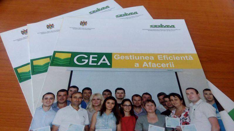 Continuă cursurile de instruire în cadrul Programului GEA la Taraclia şi Leova
