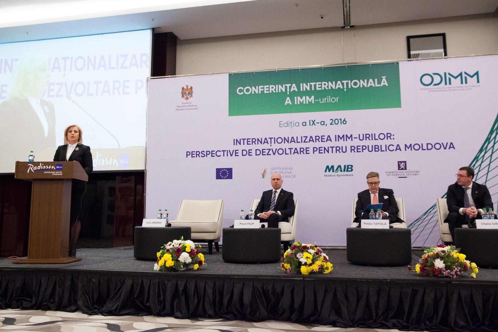Cea de-a IX-a Conferință Internațională a IMM-urilor a întrunit peste 400 de participanți