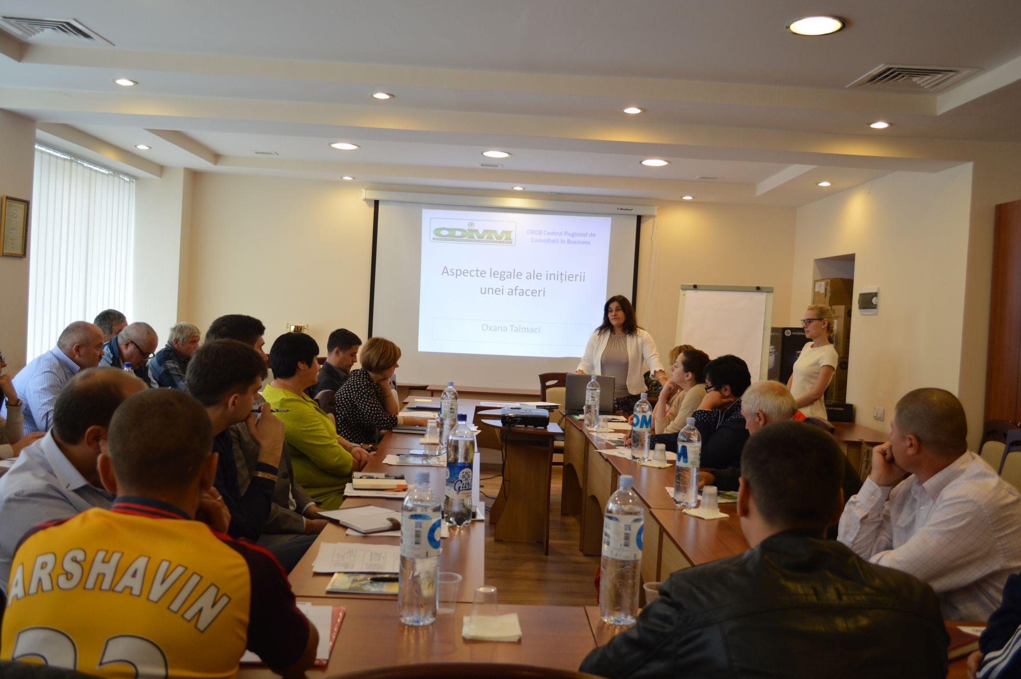 """La ODIMM a început o nouă sesiune de instruire în cadrul programului """"PARE 1+1"""""""